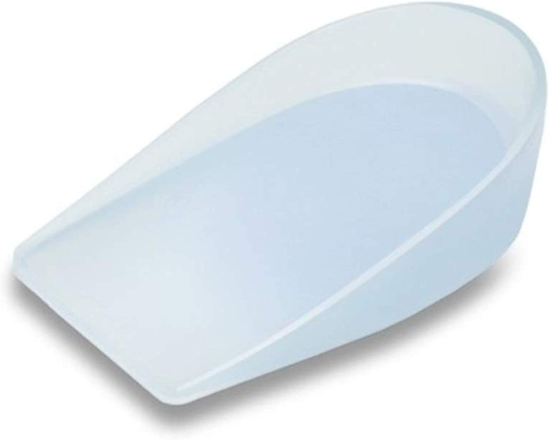 Emo espec.medico-ortop.sl QO-00125/L - Talonera de silicona (par) talla L, blanco