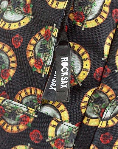 Rock N Backpack All Roses Sax Over Guns SRqSvg
