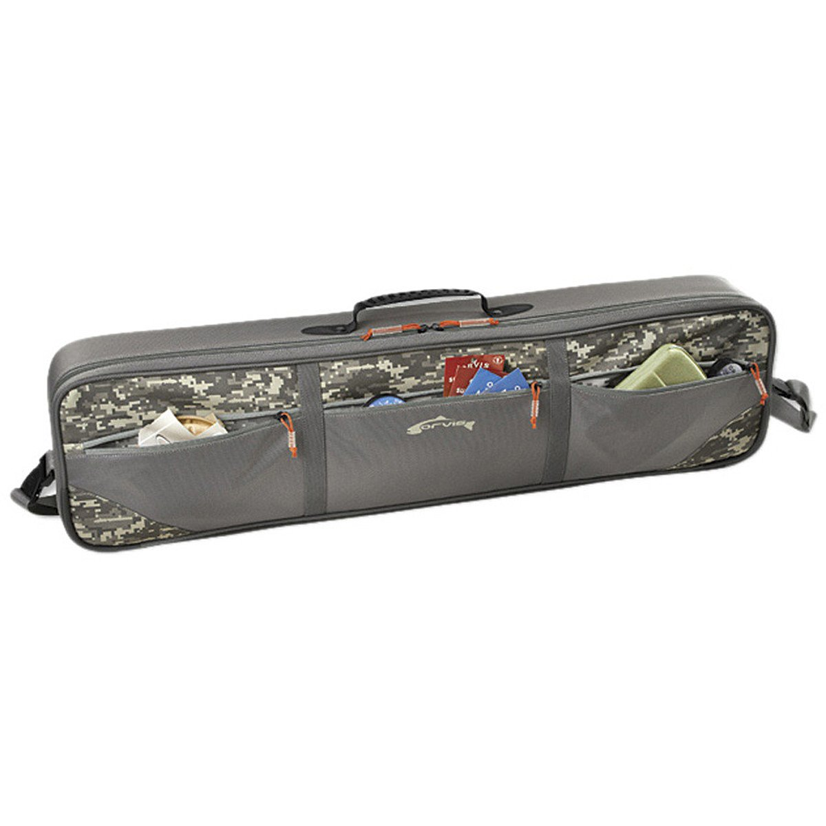 Orvis Safe Passage Carry-It-All Rod and Gear Case Digital Camo, M