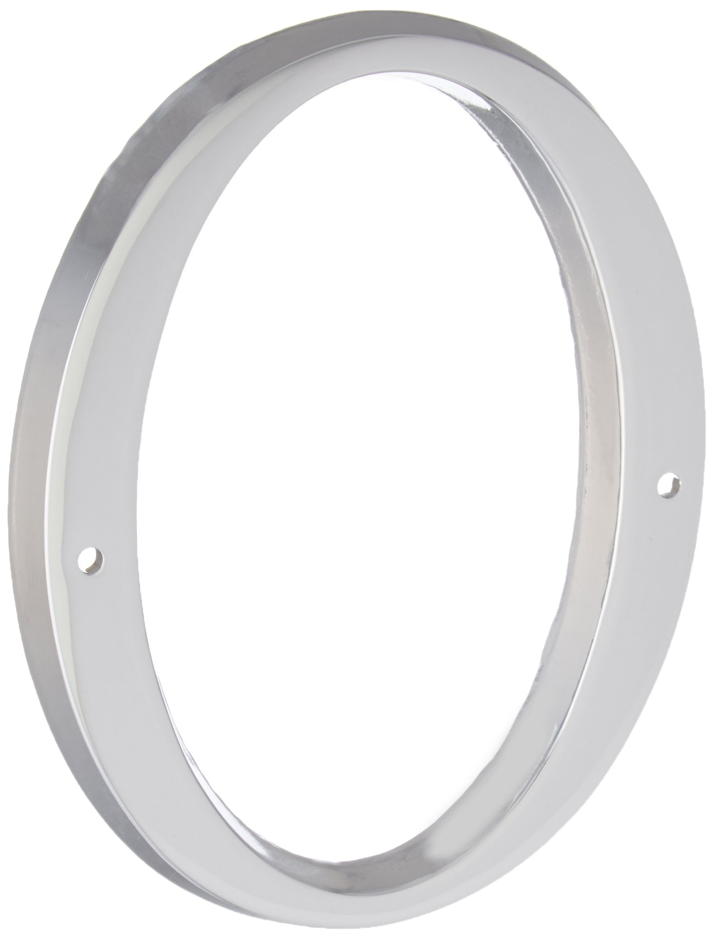 Baldwin 90670260# 0 House Number, Bright Chrome