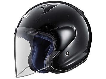 Casco para moto Jet Arai SZ-F. Negro, opaco, tamaño