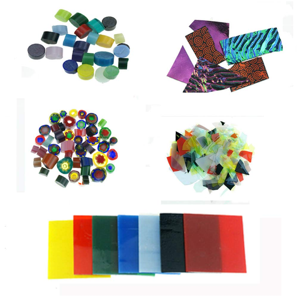 476g (10 Bags) Coe90 Fusing Glass for Microwave Kiln by Love Charm
