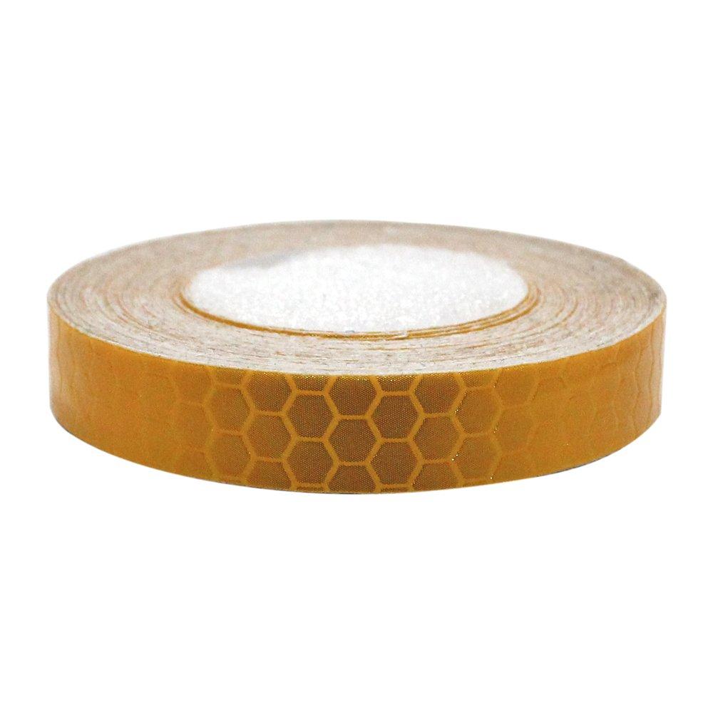 Honeycomb autoadesivo nastro adesivo segnaletico catarifrangente sicurezza Refelctive sicurezza marcatura nastro impermeabile per auto moto bici 1/CMX10/M