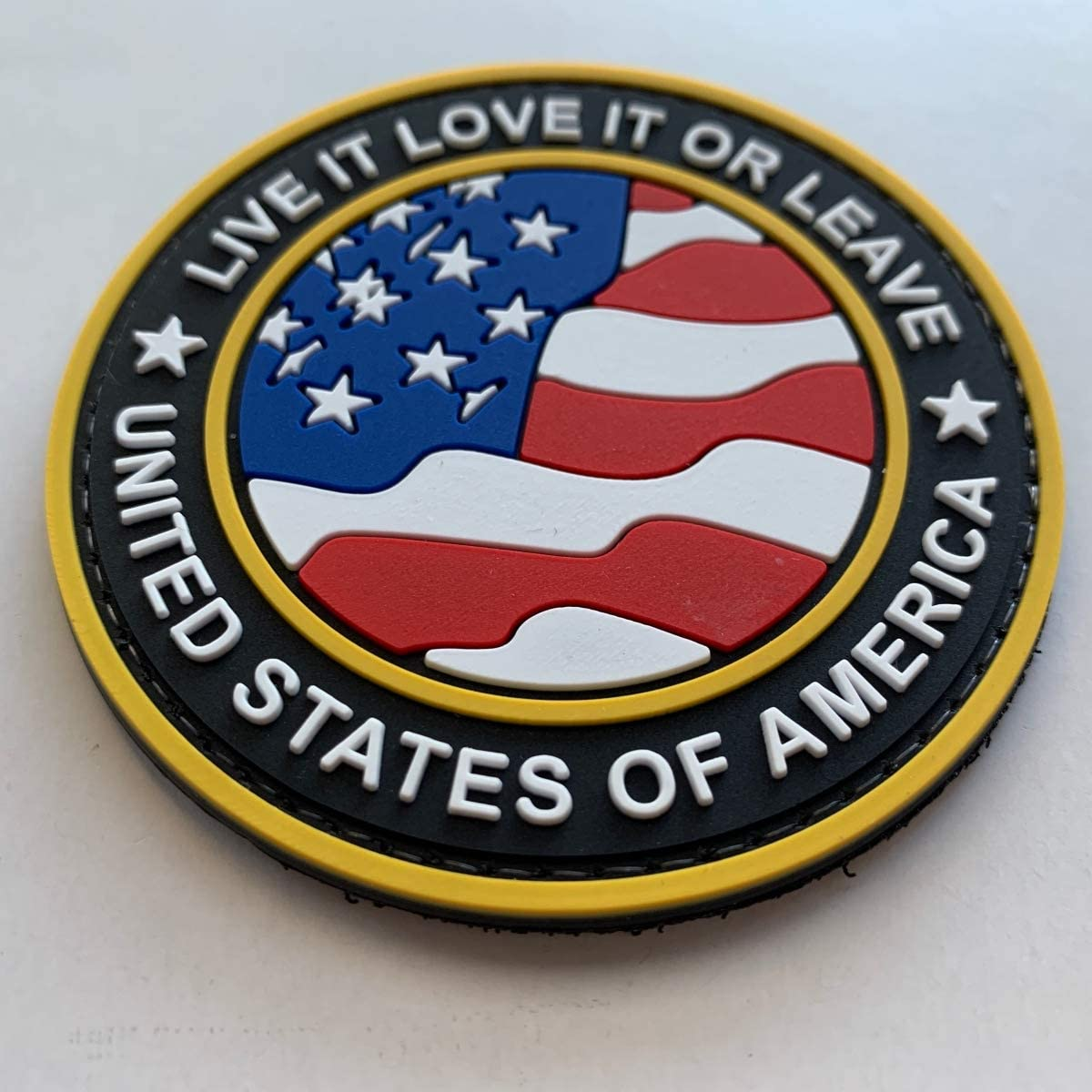 AMERICA  Live It Love It or Leave PVC Morale Patch