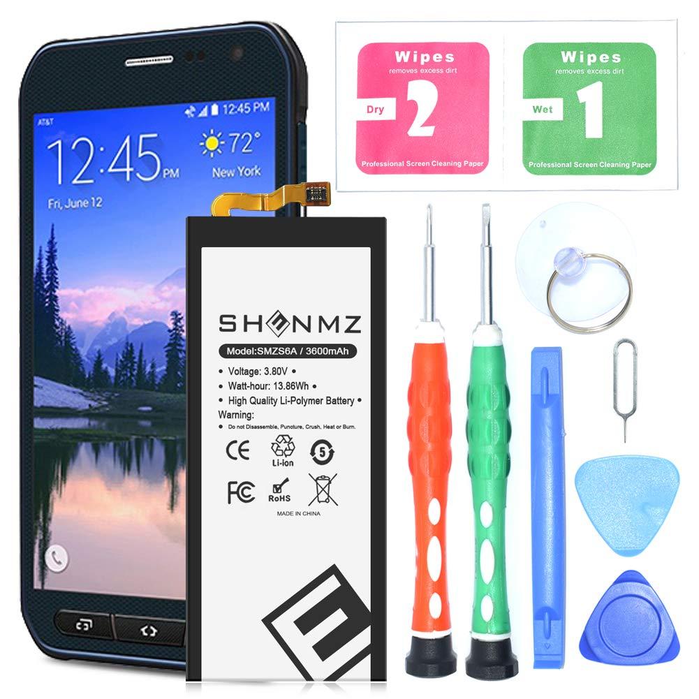Bateria Celular Galaxy S6 Active SHENMZ 3600mAh Li Polymer EB BG890ABA para for Samsung Galaxy S6 Active Galaxy S6 Activ