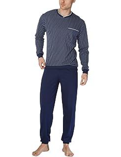 Calida Jeremy Herren Pyjama Mit Bündchen, Conjuntos de Pijama para Hombre