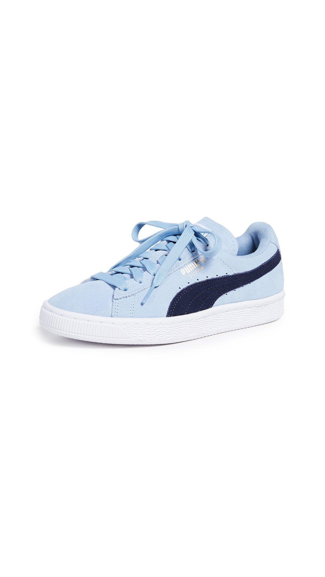 PUMA Women's Suede Classic Sneaker, Cerulean-Peacoat, 10 M US