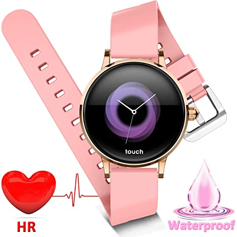 Amazon.com: Reloj inteligente para mujer de Rightby ...