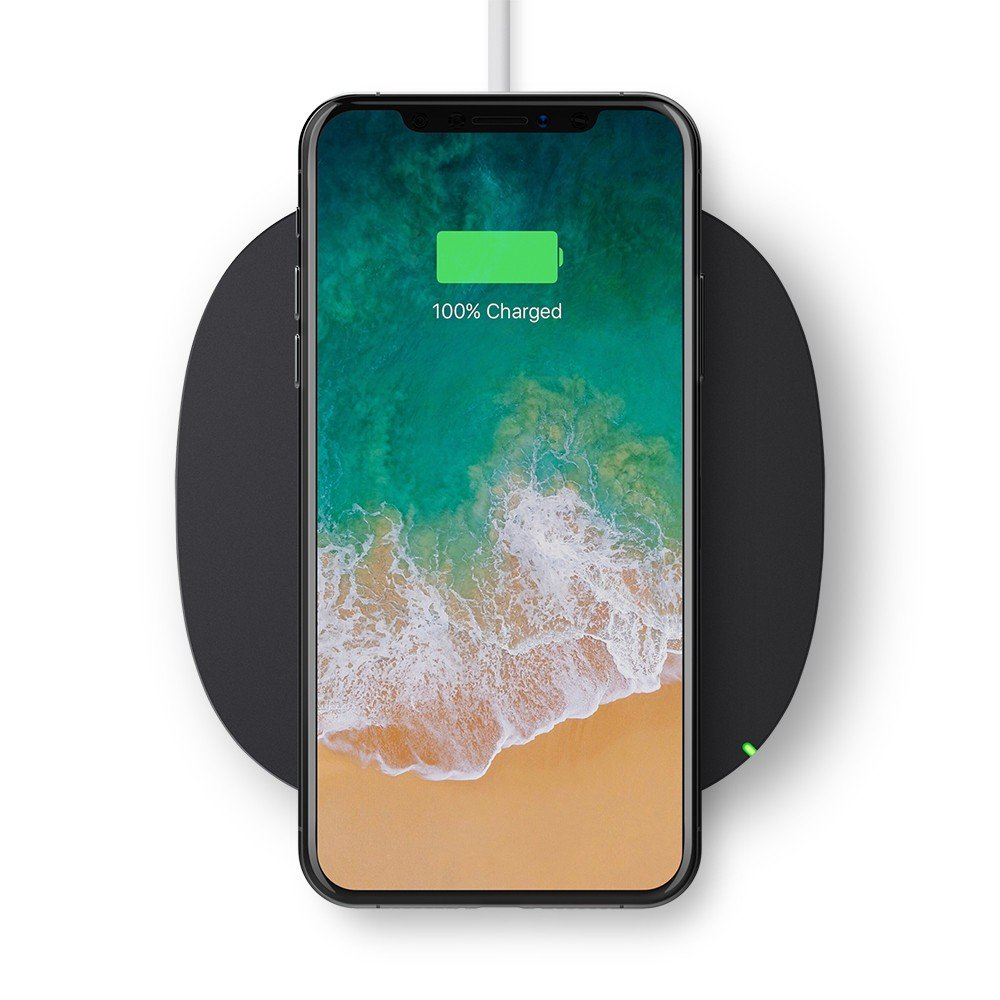 belkin qi wireless charging pad unboxed. Black Bedroom Furniture Sets. Home Design Ideas