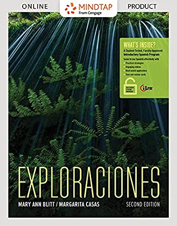 MindTap Mobile App for Spanish: Exploraciones, 2nd Edition