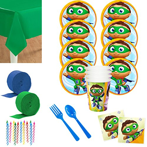 Costume SuperCenter Super Why Birthday Party Decorations (8