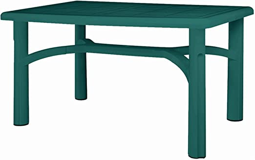 Resol Bolero Table de jardin Vert-Extérieur en plastique ...