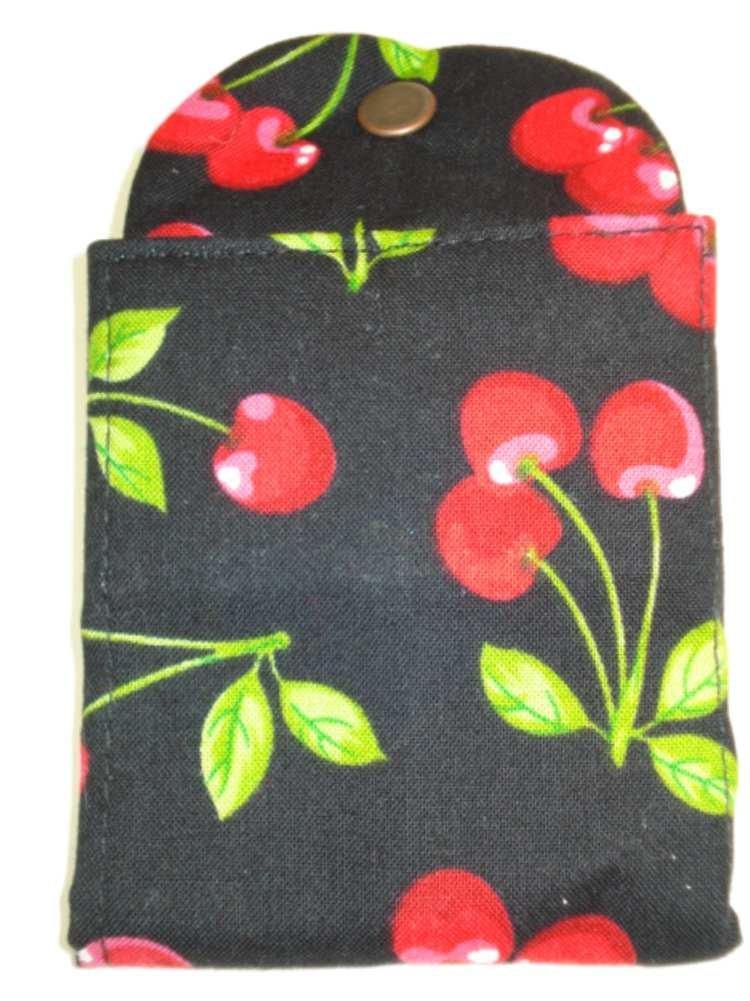 Thistledown Cherries Tea Wallet