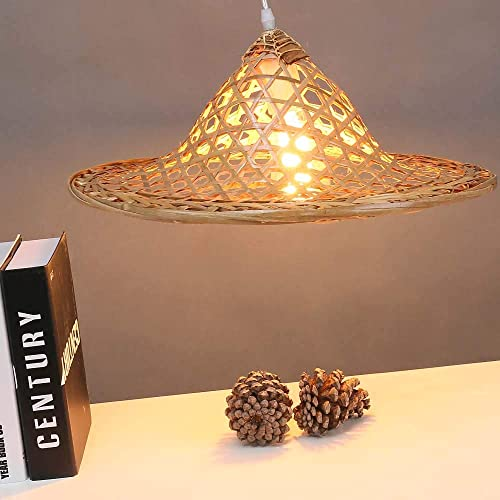 official photos d588e 5cdab Amazon.com: Arturesthome Bamboo Hanging Lamp, Handmade ...