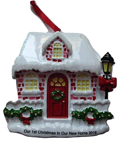 5a211c441cd11 Amazon.com  First Christmas in New Home Christmas Ornament 2018  Home    Kitchen