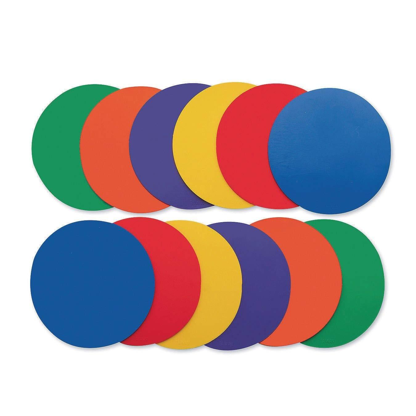 S/&S Worldwide W10937 5 Spectrum Spot Markers