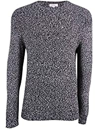 Mens Wool Marled Pullover Sweater