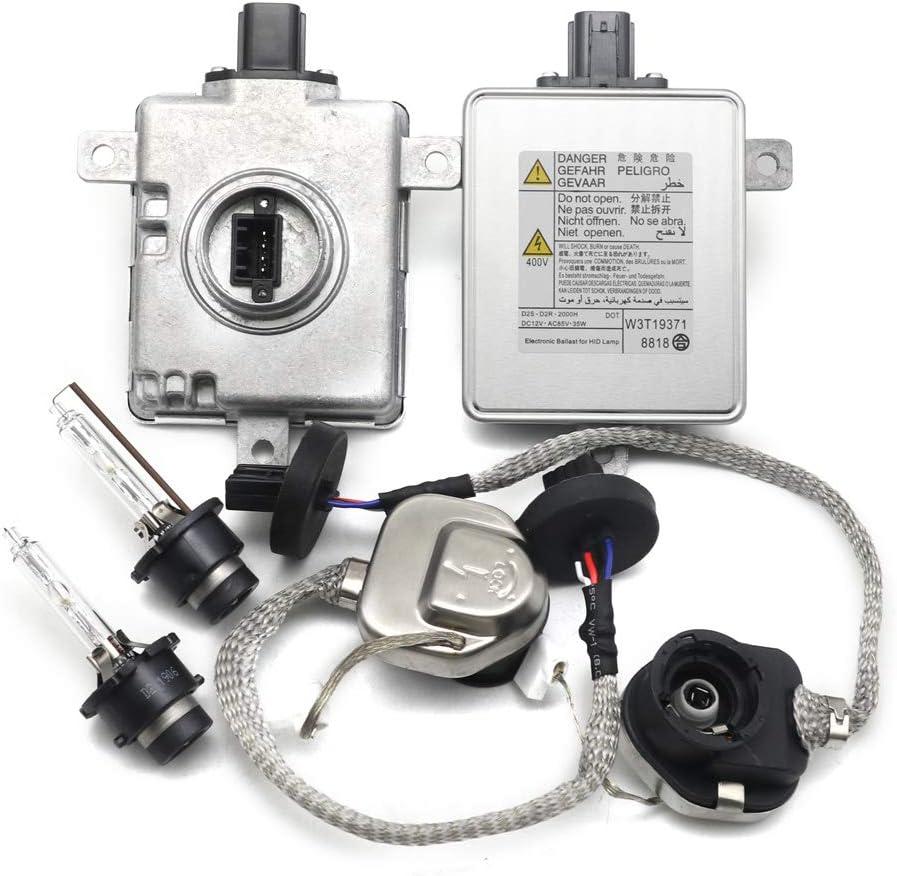 New HID Xenon Ballast /& Igniter /& D2S Bulb For 2008-2012 Honda Accord 2.4L 3.5L