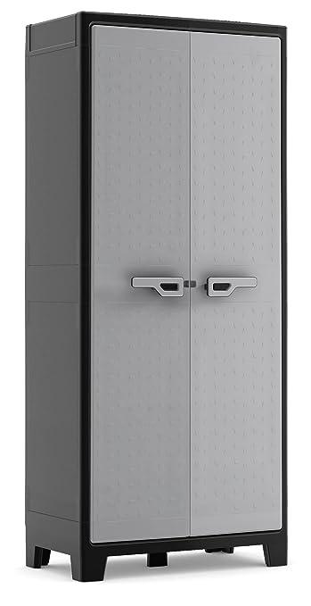 36 opinioni per KIS Armadio portascope grigio da esterno impermeabile Titan Multispace