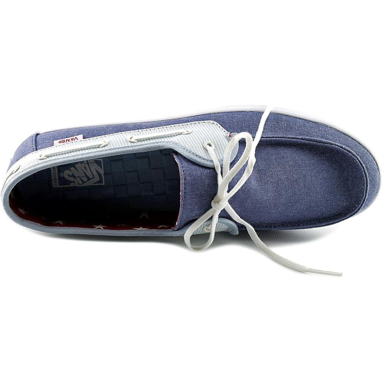 Vans Chauffette Round Toe Canvas Loafer