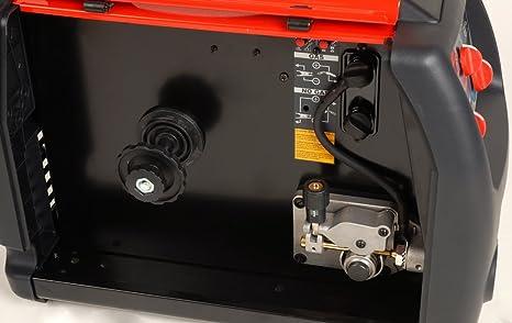 Helvi 99820039 Soldador inverter multiprocesso Fox 185 flex-line 115/230 V, 230 V, Rojo, Negro: Amazon.es: Bricolaje y herramientas