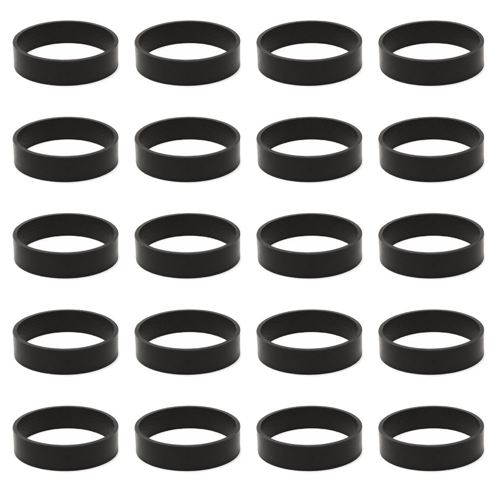 Mumaxun Replacement 301291 fits Kirby Belt, 20pcs Vacuum Cleaner Belts for All Kirby Vacuums & Shampooers - All Generation Series Models G3 G4 G5 GSix G7 Ultimate G Diamond Sentria Avalir