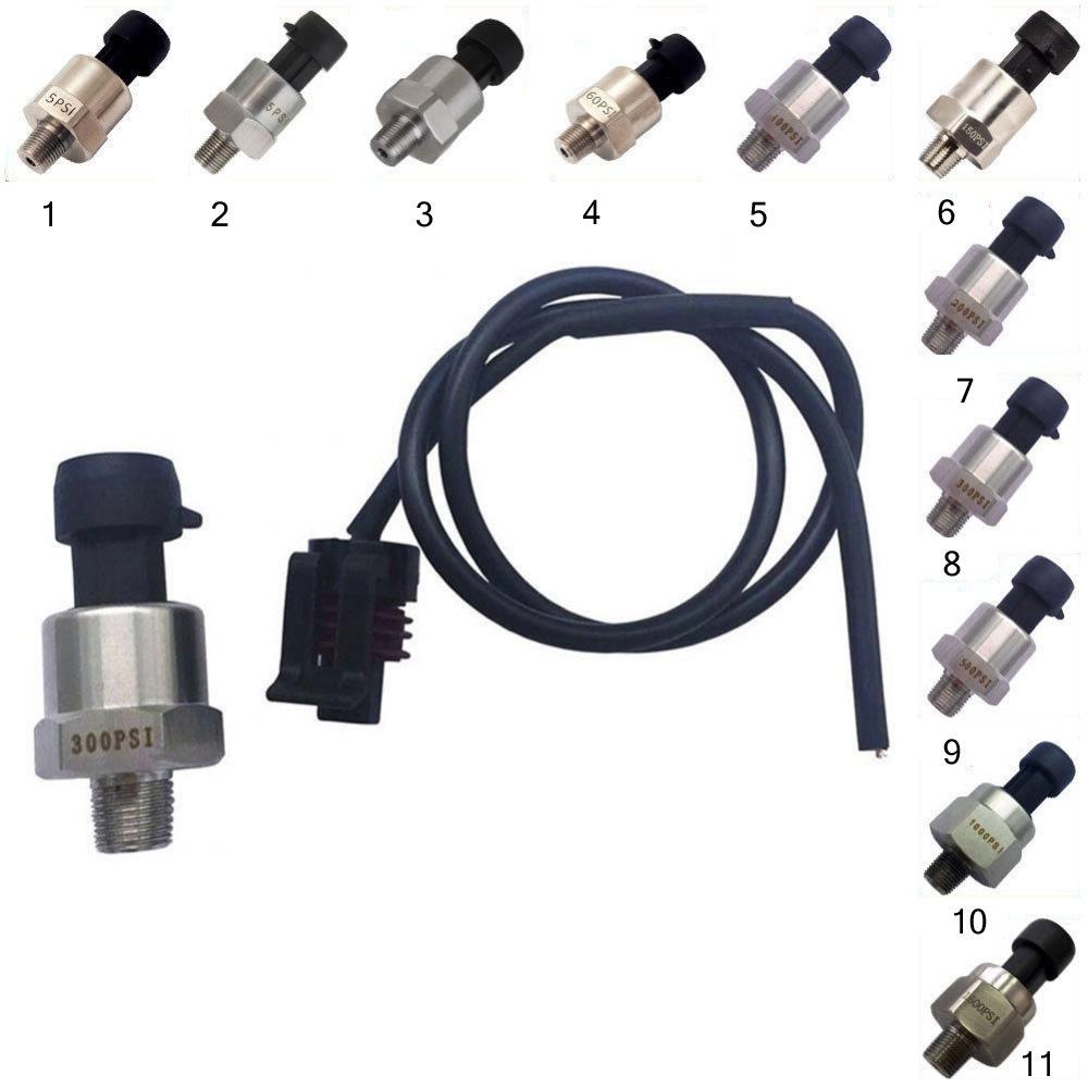 15psi MagiDeal Edelstahl Drucksensor Sender F/ür /Öl Kraftstoff Luft Wasser