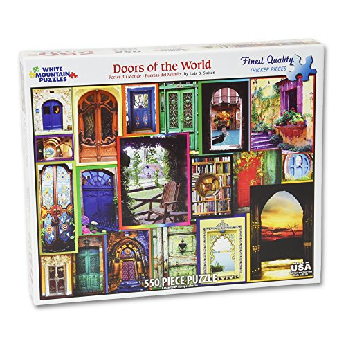 White Mountain Puzzles Doors of the World - 550 Piece Jigsaw - Make Potter Harry Costume Your Own