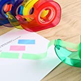 Eagle Rainbow Tape Dispenser, Colored Tapes