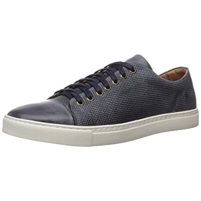 Brothers United Men's Leather Luxury Lace Up Classic Fashion Sneaker | Fashion Sneakers