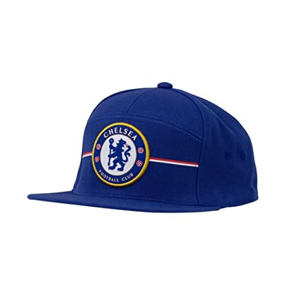 2f2f7c0f8d2 Image Unavailable. Image not available for. Color  Adidas Mens Chelsea  Anthem FC Snapback Hat Chelsea Blue White