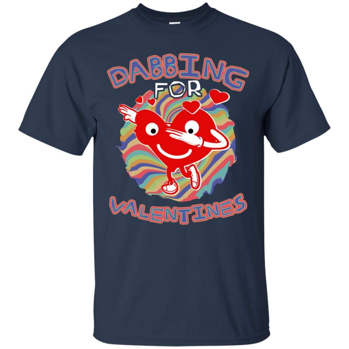 Teelesto Dabbing for Valentines Shirt