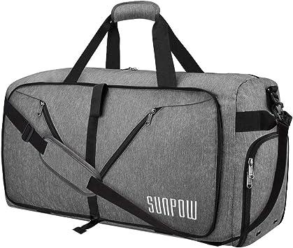 Amazon.com: SUNPOW Bolsa de viaje plegable, bolsa de ...