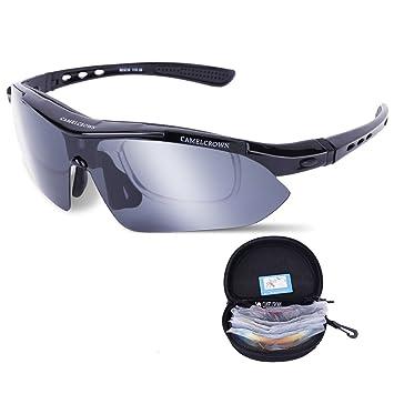 CAMEL CROWN Gafas de Sol para Hombres y Mujeres, Gafas ...