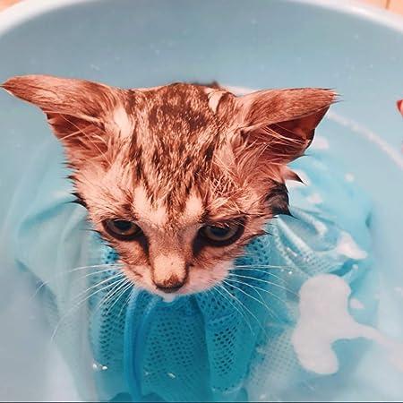 WENFF Bolsa De Dios para Baño De Gato Suministros De Baño para ...