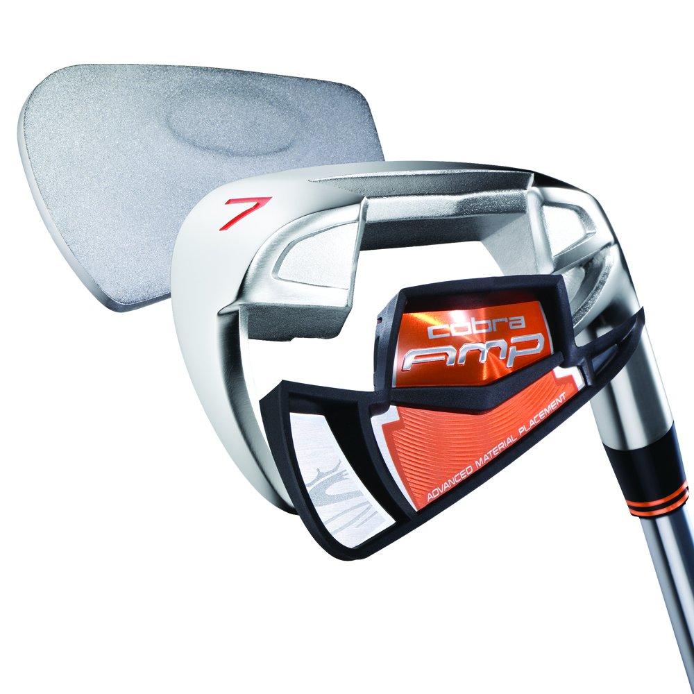 Cobra AMP Golf hierros (eje de acero) Mens flexible Regular ...