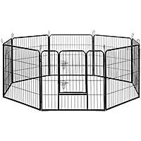 8 Panels Pet Dog Exercise Playpen 80CM