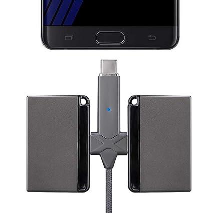 Sonmer - Cargador portátil magnético de 800 mAh (paquete de ...