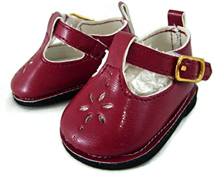 """WHITE T-Straps DOLL DRESS SHOES fits American Girl 15/"""" BITTY BABY /& TWINS DOLLS"""