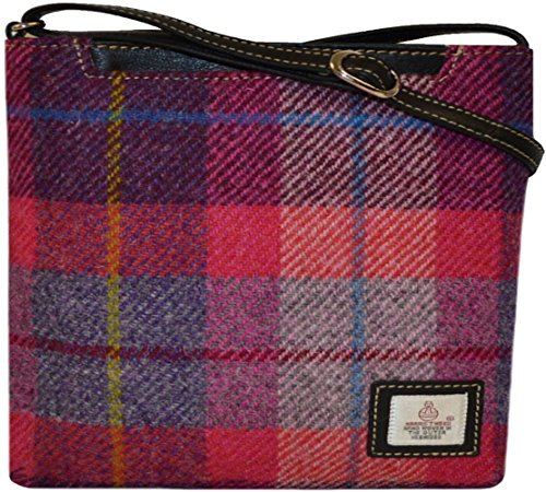 Harris Tweed Taransay Bag (7Colours Available) Direct from the Isle of Harris By Harriswear (PRICE REDUCTION on SELECTED ITEMS) A088pink