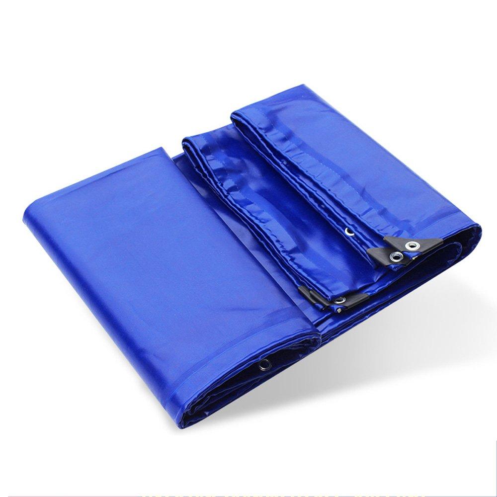 Pañ o De Lluvia Tienda De Campañ a Al Aire Libre Pañ o De La Piscina Pañ o De La Cubierta Del Pegamento Del PVC - Protecció n Del Sol A Prueba De Viento Del Encerado Del Coche Grueso Azul 0.6mm Con Ojete D Baiyun flyin
