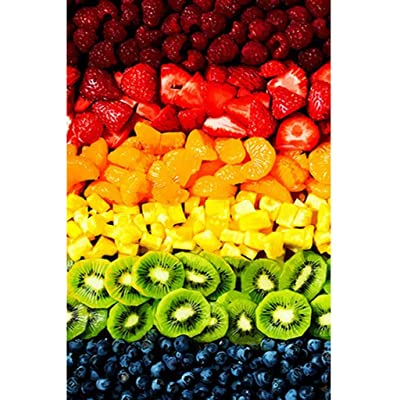 Jigsaw Puzzle 1000 Pieces for Adults Kids -Colorful Fruit Home Decoration Puzzle Frame Children Floor Jigsaw Puzzle(29.52 x 19.68 Inch): Toys & Games