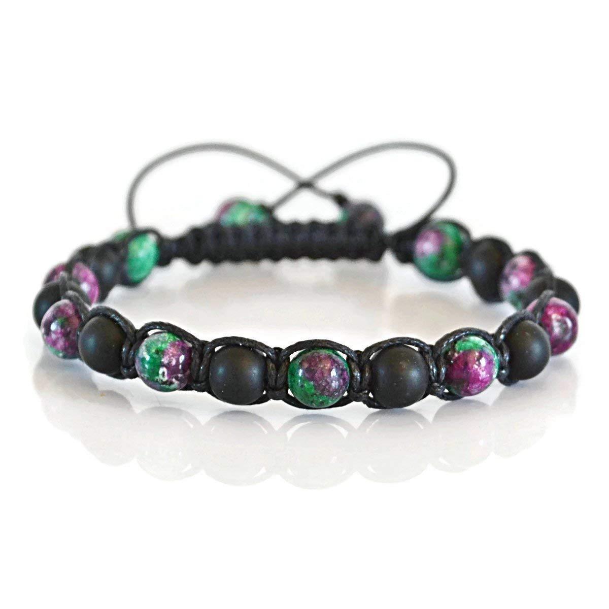 Green Onyx Jewelry Gift For Men And Women Jewelry Making Healing Bracelet Beaded Bracelet Onyx Beads Green Onyx Onyx Bracelet