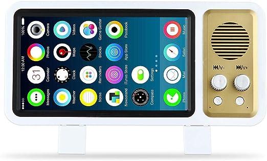 Hamkaw Pantalla con Lupa 3D Universal para Smartphone, Altavoz ...