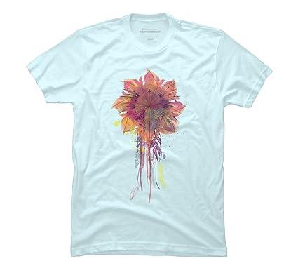 9deff6216 Amazon.com: Sunflower Catcher Men's Graphic T Shirt - Design By Humans:  Clothing