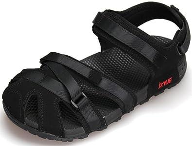 2c05718b2f342 Amazon.com   SATUKI Women's Outdoor Athletic Sandal Black   Sport ...