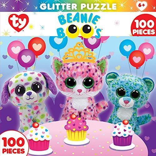 MasterPieces Beanie Boo Glitter Sprinkles Club Jigsaw Puzzle, 100-Piece