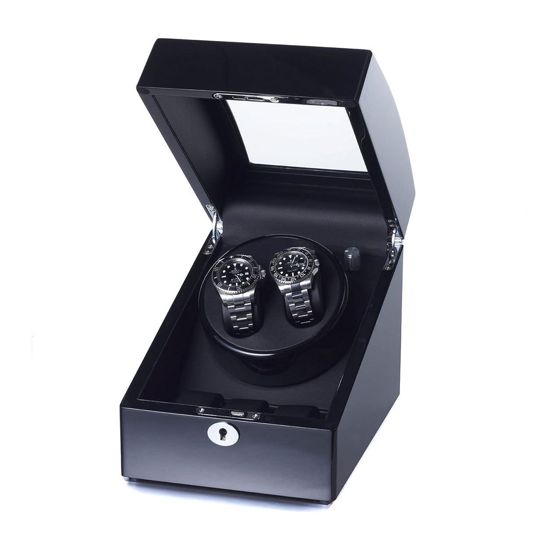 Raoul U Braun  Uhrenbeweger Swing fÜr 2+3 Uhren Black - Black  Watchwinder 1002322003