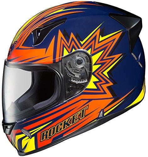 Joe Rocket R1000X Blaster Full-Face Motorcycle Helmet (MC-2, X-Large) ()