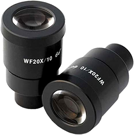 AmScope Pair of Extreme Widefield 30X Eyepieces 30mm
